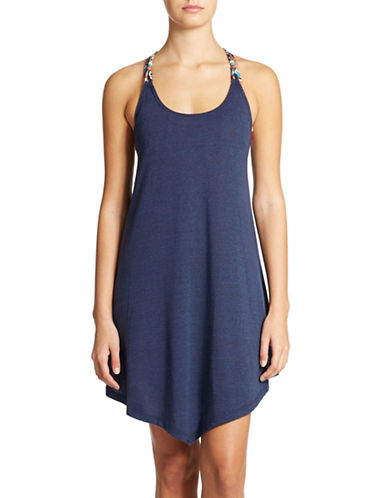 LUCKY BRAND Tribal Wave Tank Dress Swim Cover Up