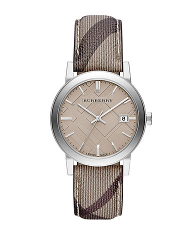 BURBERRY Ladies The City Stainless Steel Watch