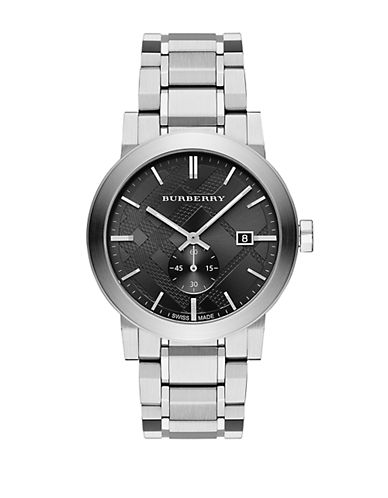 BURBERRY Mens The City Stainless Steel Watch