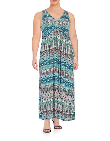 Knit Crisscross Maxi Dress plus size,  plus size fashion plus size appare