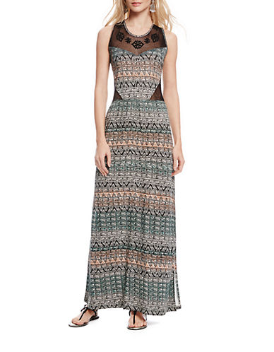 Shop Jessica Simpson online and buy Jessica Simpson Patterned Maxi Dress dress online