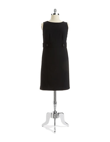 Tahari Arthur S. Levine Plus Sleeveless Shift Dress