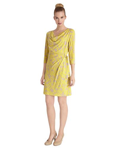 TAHARI ARTHUR S. LEVINEGeo Print Dress