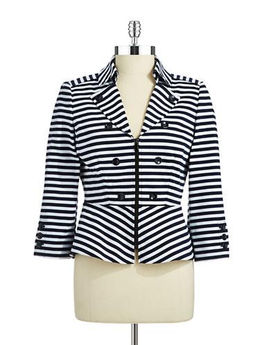 TAHARI ARTHUR S. LEVINEStriped Fashion Jacket