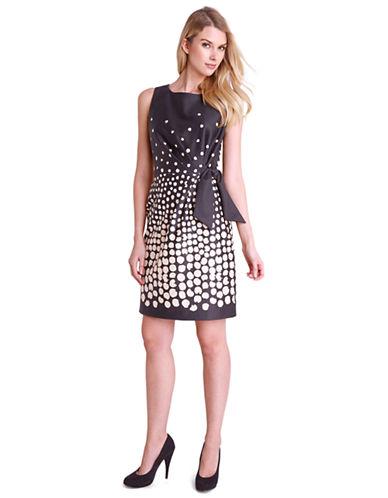 TAHARI ARTHUR S. LEVINEAndy Gradient Dot Dress