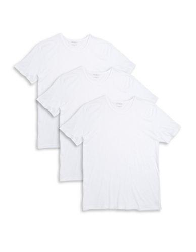 EMPORIO ARMANIThree-Pack Cotton Crewneck T-Shirts