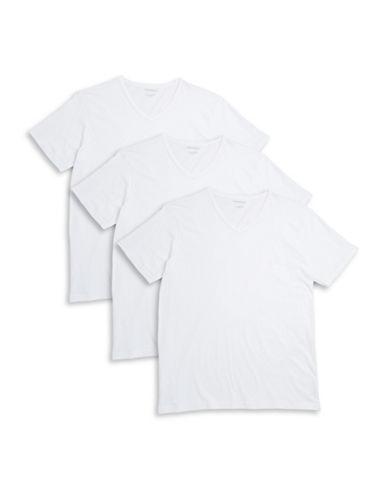 EMPORIO ARMANIThree-Pack Cotton V-Neck T-Shirts