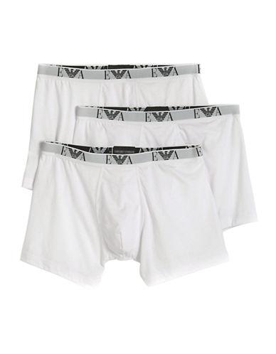 EMPORIO ARMANIThree-Pack Cotton Boxer Briefs