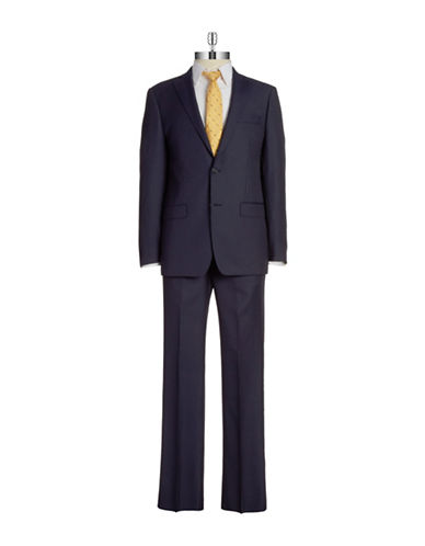 Two-Piece Pinstripe Suit $357.00 AT vintagedancer.com