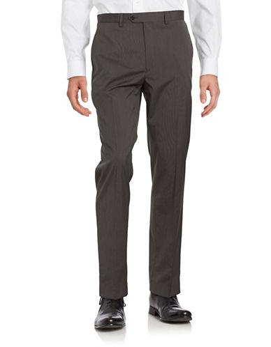 michael kors male textured straightleg pants