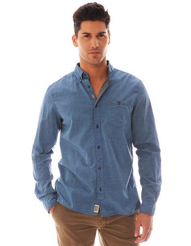 BUFFALO DAVID BITTONBruce Sajul Chambray Shirt