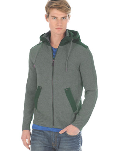 BUFFALO DAVID BITTON Knit Zip Hoodie