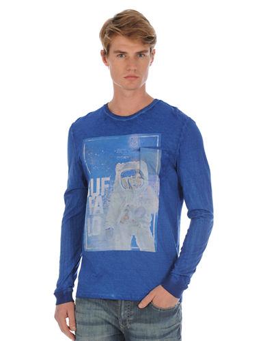 BUFFALO DAVID BITTONLogo Astronaut Graphic T-Shirt