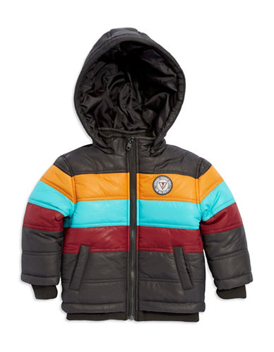 GUESSBoys 2-7 Striped Hooded Jacket