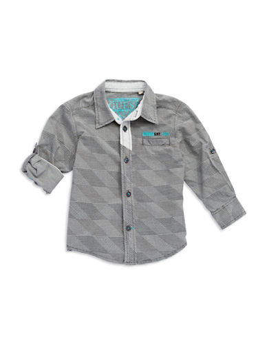 GUESSBoys 2-7 Patterned Sport Shirt