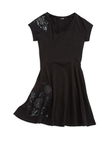 GUESSGirls 7-16 Sequined Floral Dress