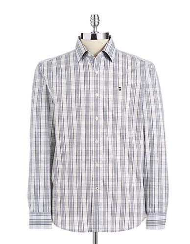 VICTORINOX Tailored Fit Button-Down Shirt