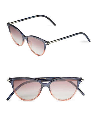 marc jacobs female 53mm cat eye sunglasses