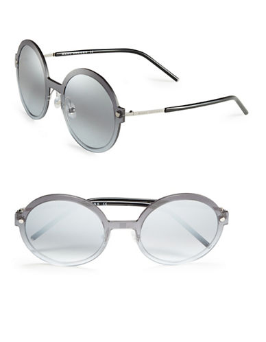 marc jacobs female 45900 54mm round sunglasses
