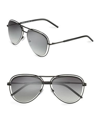 marc jacobs female 188971 54mm aviator sunglasses