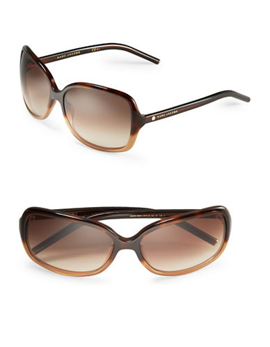 marc jacobs female 211468 59mm square sunglasses