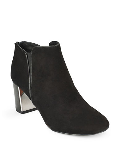 Buy Cosmo Suede Ankle Boots by Donald J. Pliner online