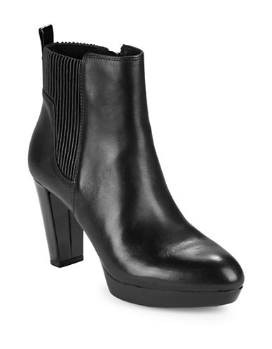 Buy Edina Leather Ankle Boots by Donald J. Pliner online