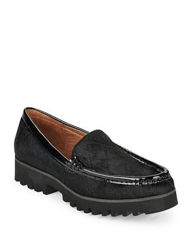 DONALD J. PLINERRoko Calf Hair Loafers