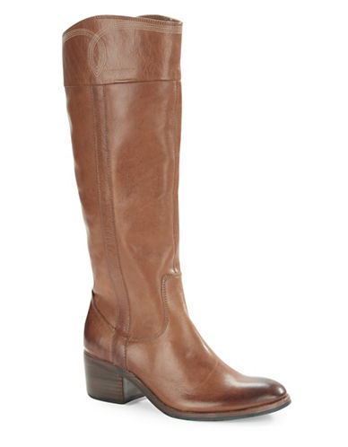 Buy Willi Leather Calf-High Boots by Donald J. Pliner online