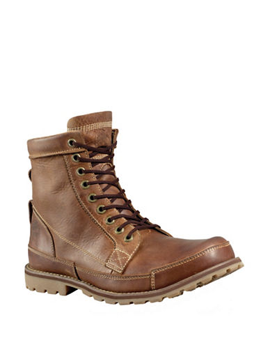 TIMBERLANDEarthkeeper Rugged Original Leather 6 Inch Boots