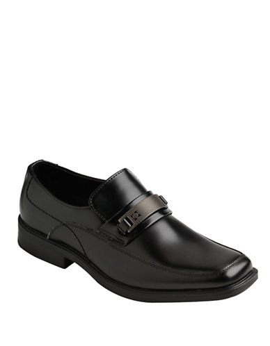 KENNETH COLE REACTION Serve Up Leather Loafers