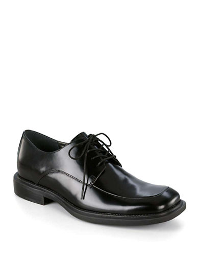 KENNETH COLE NEW YORK Merge Leather Oxfords - Smart Value