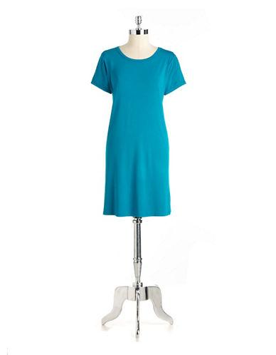 CHELSEA & THEODOREShort Sleeved T Shirt Dress