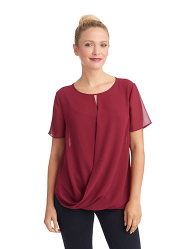PHILOSOPHY BY REPUBLICWrap Front Keyhole Top
