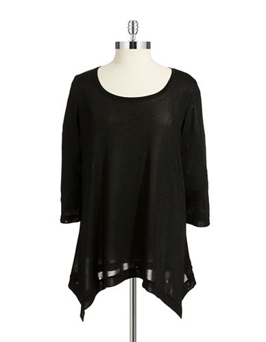 Grace Elements Plus Plus Semi Sheer Shirt