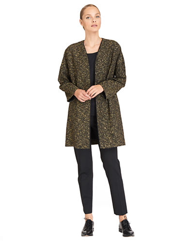 LAFAYETTE 148Argento Wool Lorraine Coat