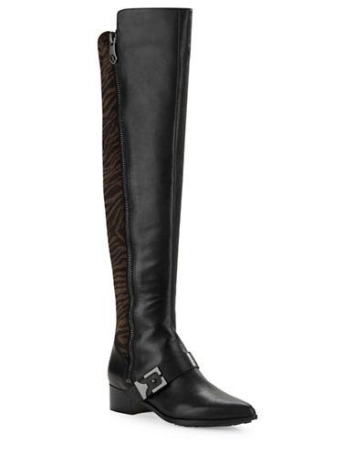 CAROLINNA ESPINOSADalton Faux Fur and Leather Boots