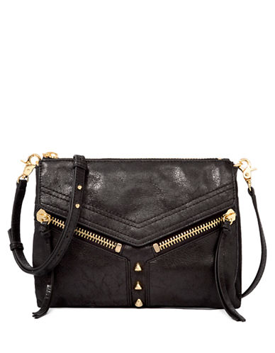 BOTKIER Trigger Embossed Leather Crossbody Bag
