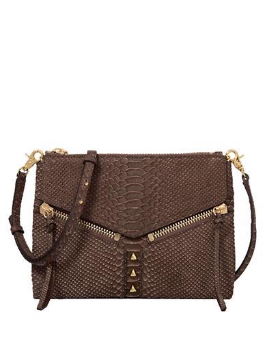 BOTKIERTrigger Embossed Leather Crossbody Bag