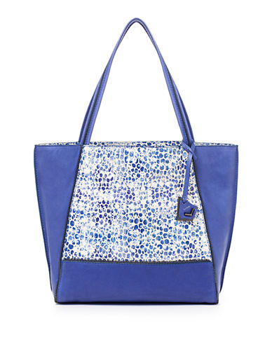 BOTKIER Soho Leather Zip-Trimmed Tote