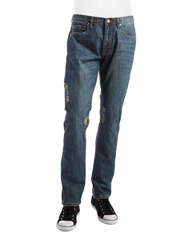 ENGLISH LAUNDRYDistressed Slim Fit Jeans
