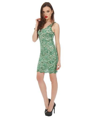 ALEXIA ADMORLace Overlay Bodycon Dress