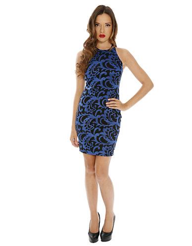Shop Alexia Admor online and buy Alexia Admor Filigree Print Halter Dress dress online