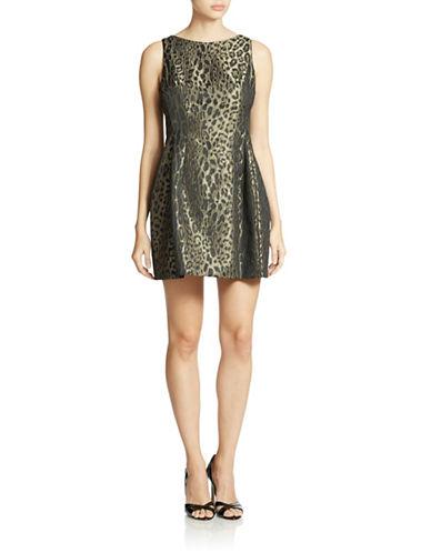 ALEXIA ADMORPleated Lace Tank Dress