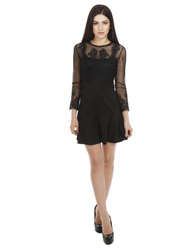 ALEXIA ADMORChantilly Lace A Line Dress