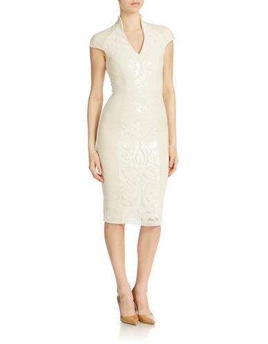 Shop Alexia Admor online and buy Alexia Admor Cap Sleeve Midi Dress dress online