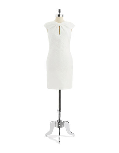 PAMELLA PAMELLA ROLANDEmbroidered Shift Dress