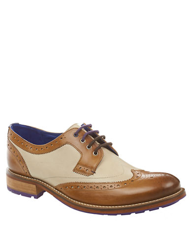 TED BAKERCassiuss 3 Derby Brogue Oxfords