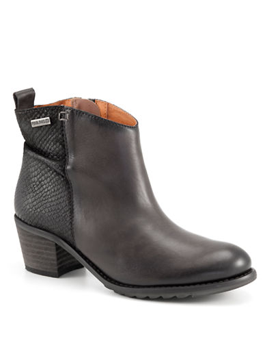 PIKOLINOS Andorra Leather Ankle Boots