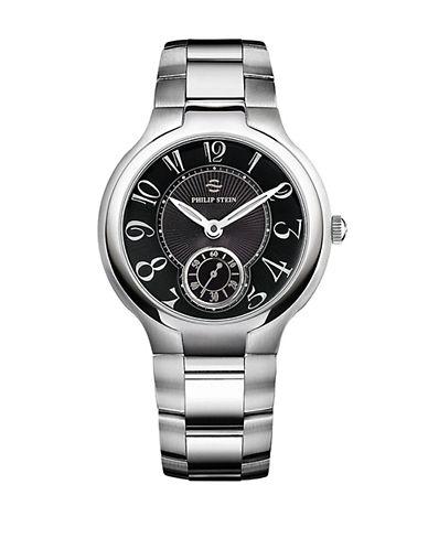 PHILIP STEINUnisex Silver-Tone Large Chronograph Watch